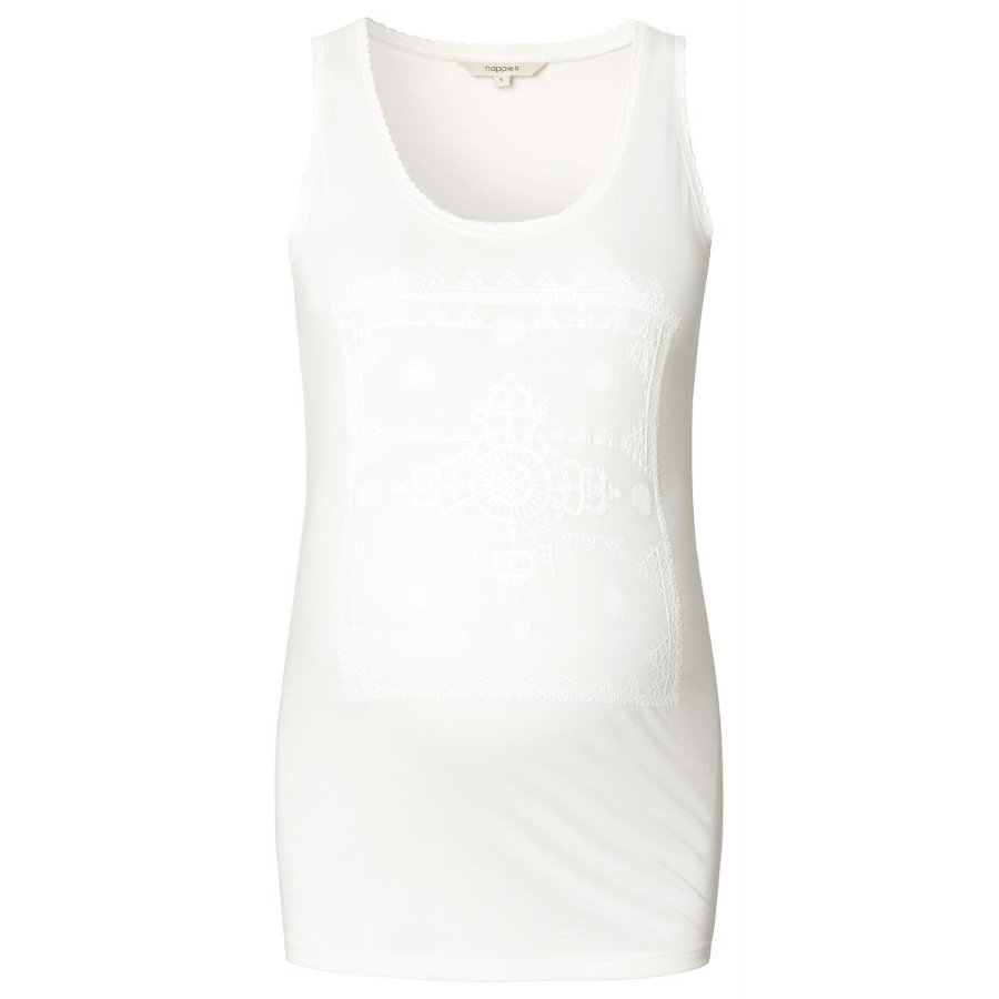 noppies omstandigheid top off white