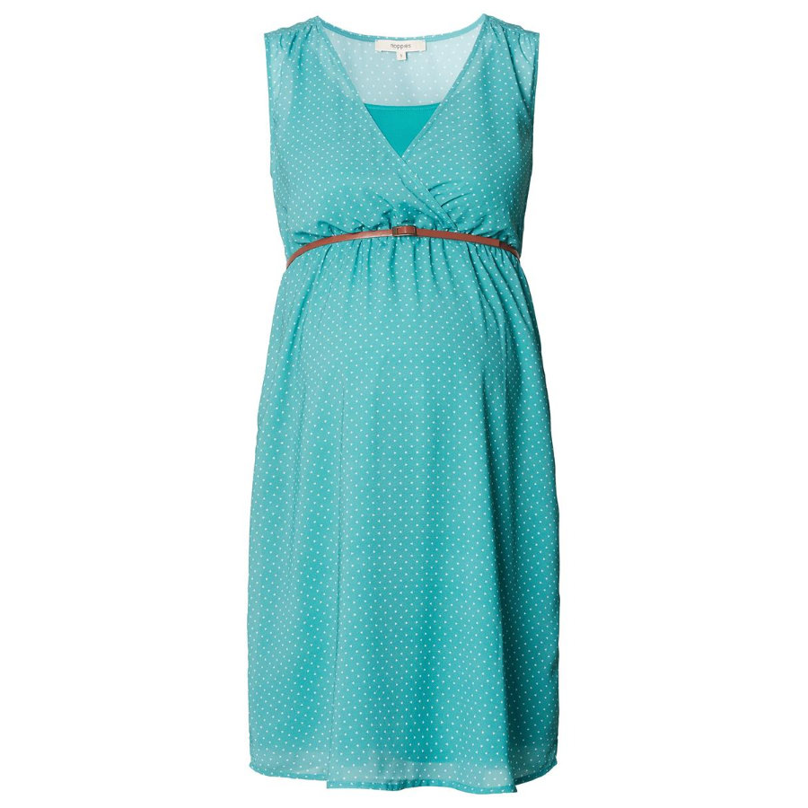 noppies Moederschap jurk Martit light green