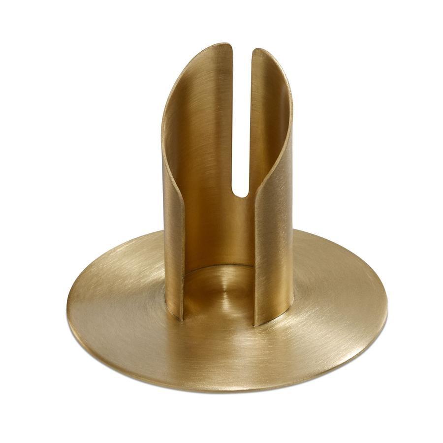 Wiedemann Röhrenleuchter für Kerzen 30mm gold