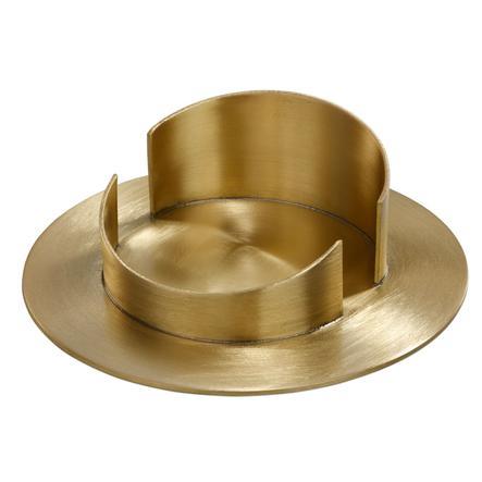 Wiedemann Messingleuchter für Kerzen 70mm gold