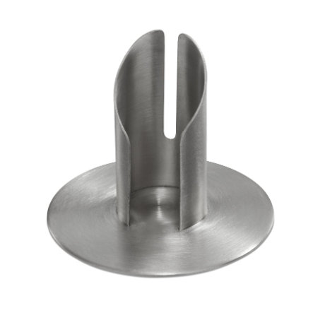 Wiedemann lysestake til lys 30mm sølv