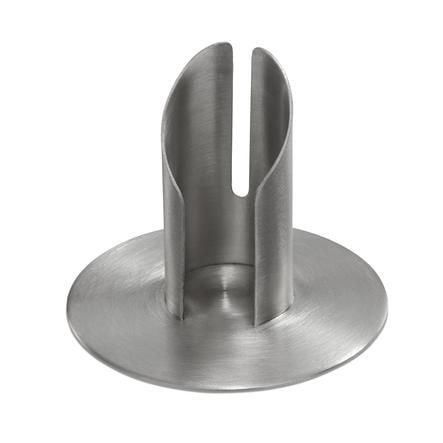 Wiedemann Röhrenleuchter für Kerzen 30mm silber