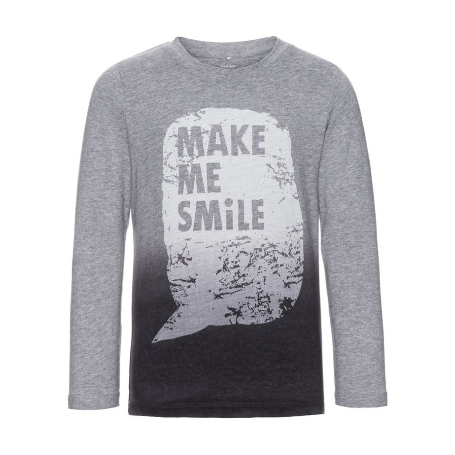 name it Boys Longsleeve Dilas grey melange