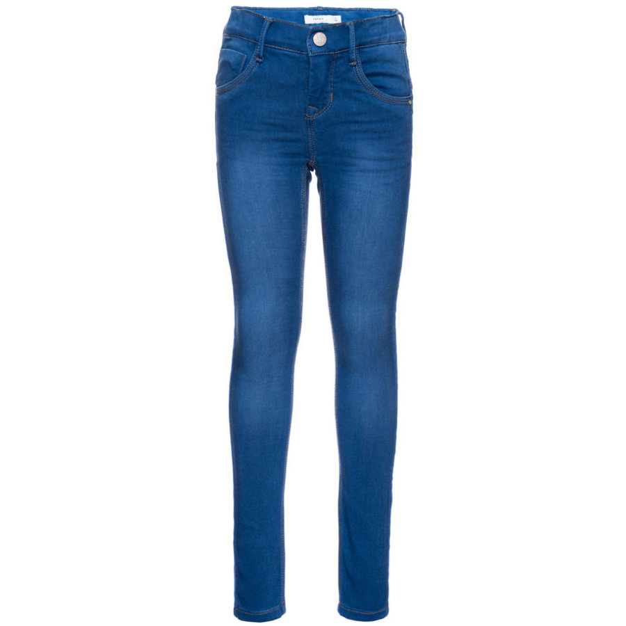 name it Trinas Spodnie medium blue denim