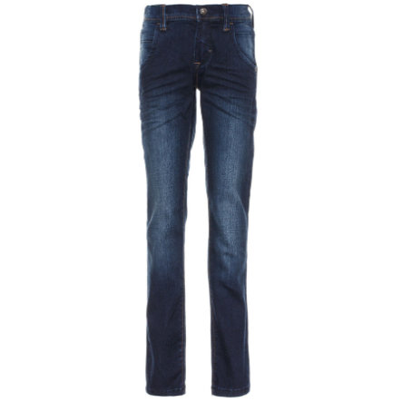 name it Boys Togo dark blue denim