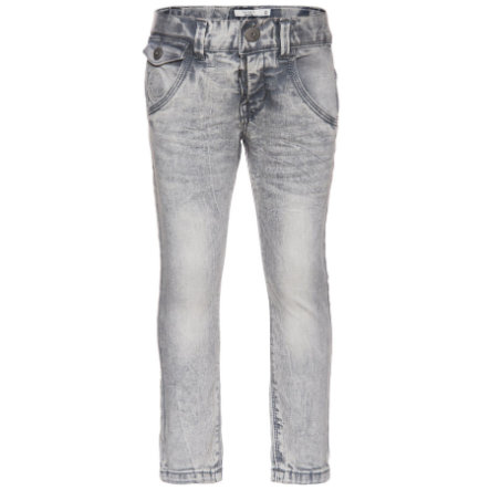 name it Boys Thue Spodnie light grey denim