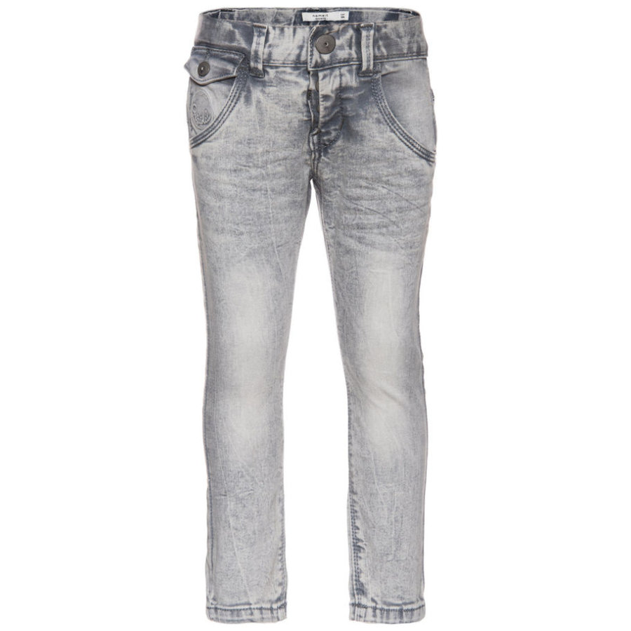 name it Boys Thue light grey denim