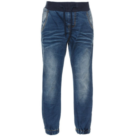 name it Boys Jeans Benji medium blue denim