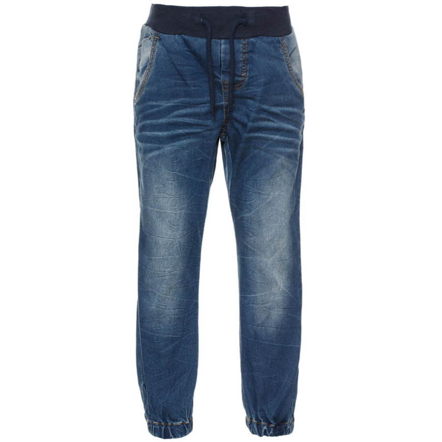 name it Boys Jeans Benji medium blue denim