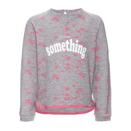 name it Girls Sweatshirt Jamix gråmelert