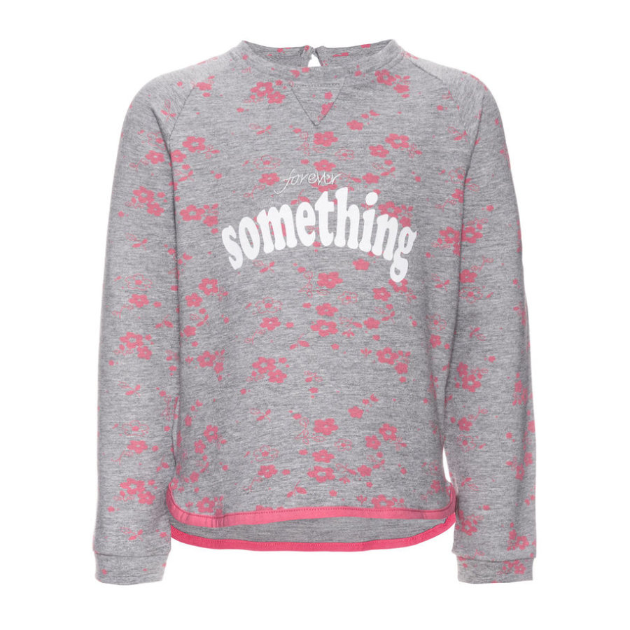 name it Sweatshirt Jamix gråmelerad