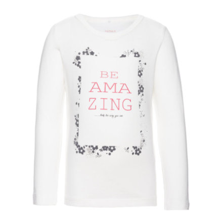 name it Girls Longsleeve Veennice snow white