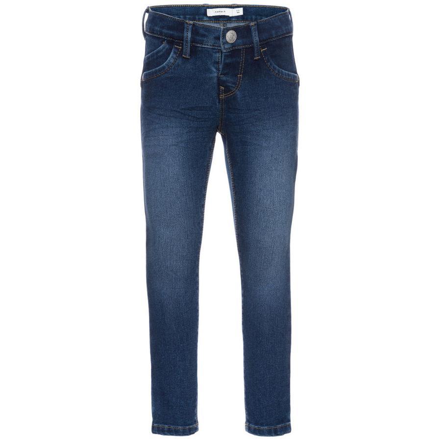 name it Girls Jeans Aida medium blue denim