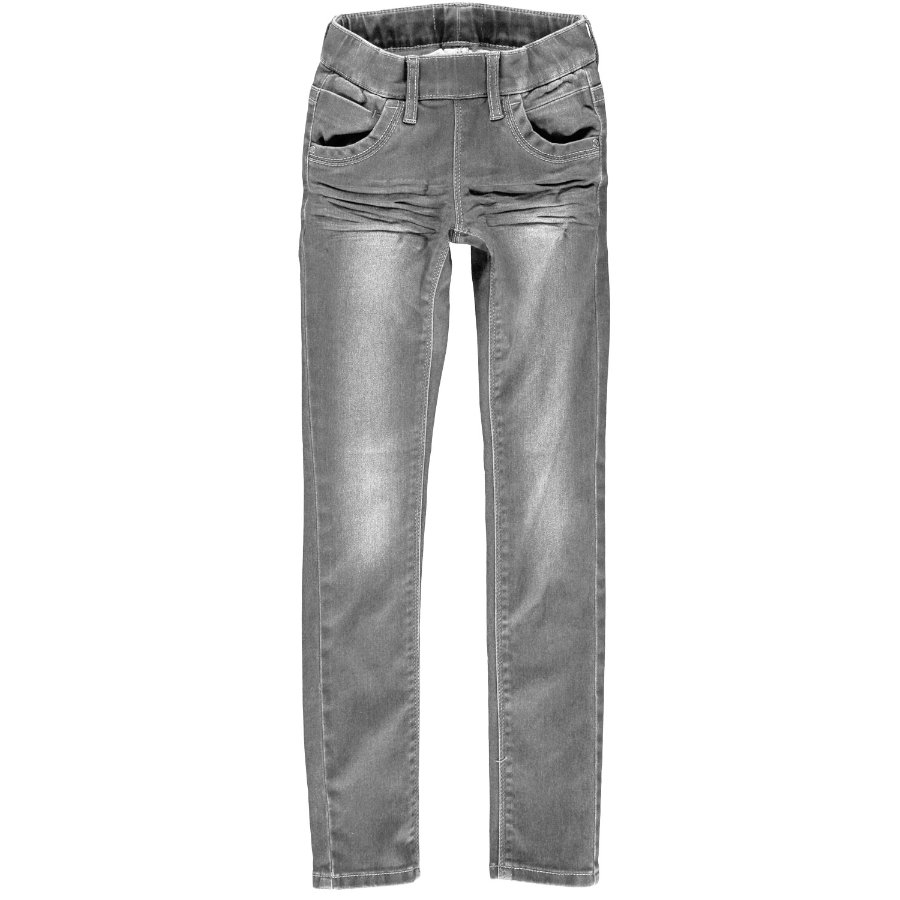 name it Girls Jeans Tanja medium grey denim