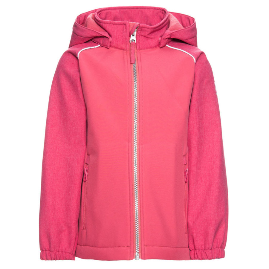 name it Girls Softshelljacke Alfa rapture rose