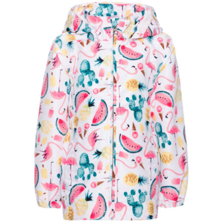 name it Girls Jacke Mello bright white