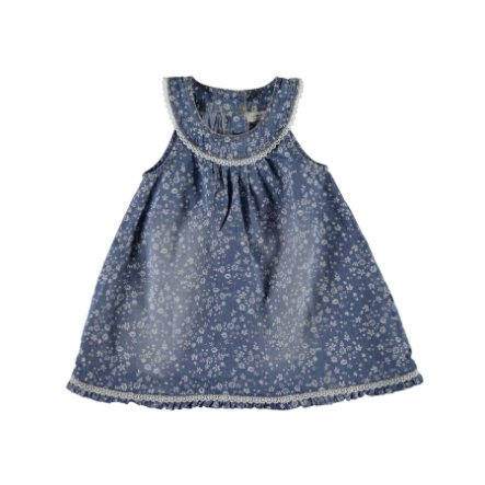 name it Girls Kleid Abava light blue denim
