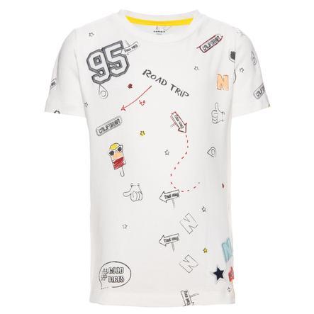 name it Boys T-Shirt Egon blanc neige