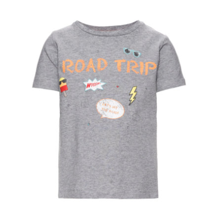 name it Boys T-Shirt Mélange gris Egon