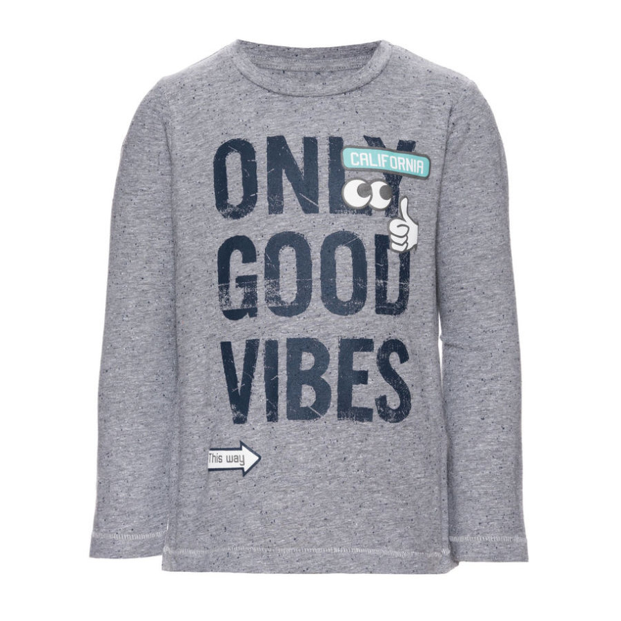 name it Boys Longsleeve Ebbe grey melange