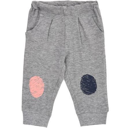 name it Girl s Pantalones de chándal Ena gris mélange
