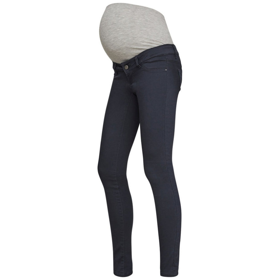 mama licious mlelly Skinny Umstandsjeans Ombre Blue Länge: 32