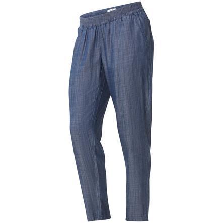 mama licious Spodnie ciążowe MLLYON Medium Blue Denim