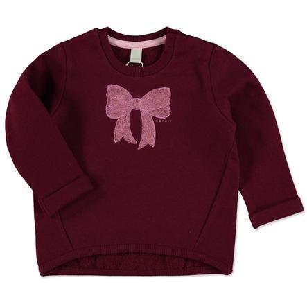 ESPRIT Girl s Sweatshirt Imprimé rouge
