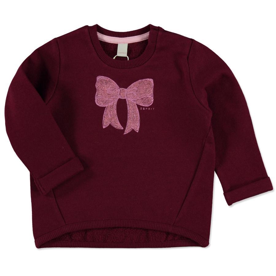 ESPRIT Girl s Sweatshirt print rood