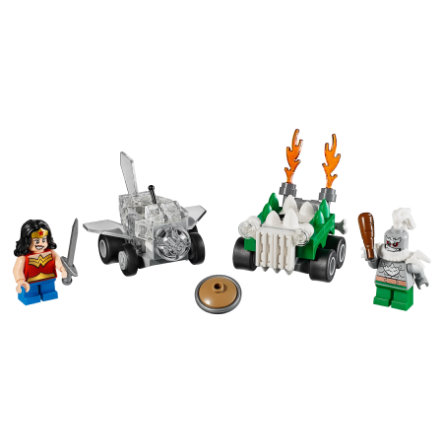 LEGO® DC Universe Super Heroes™ Mighty Micros: Wonder Woman™ vs. Doomsda 76070