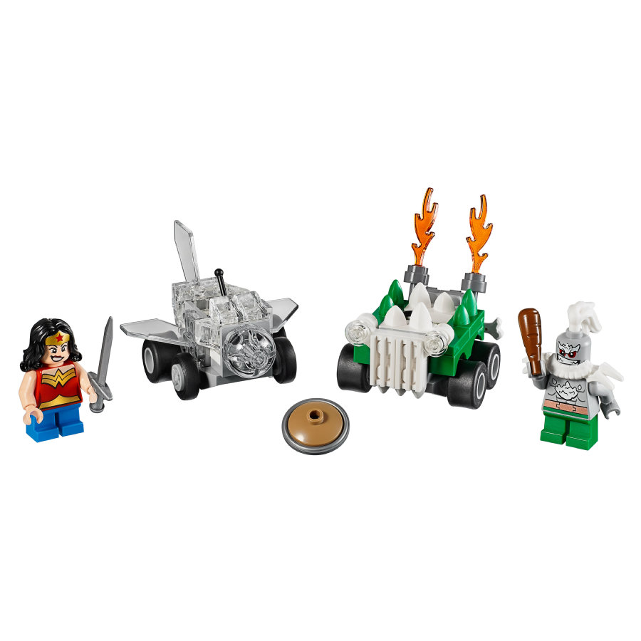 LEGO® DC Universe Super Heroes™ Mighty Micros :  Wonder Woman™ contre Doomsday™