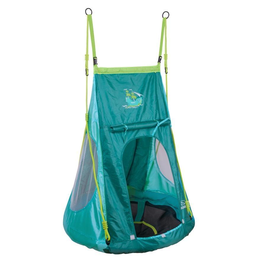 HUDORA® Nestschaukel mit Zelt, Pirate 90