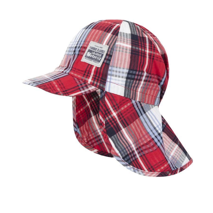 Döll Baseballmütze Karo chinese red