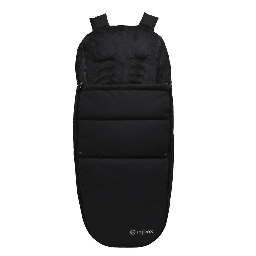 CYBEX Śpiworek na nóżki do wózka black-black