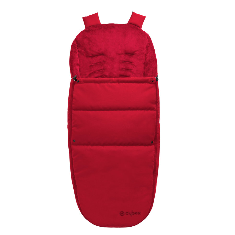 cybex GOLD Fußsack für Kinderwagen und Buggys Red-red