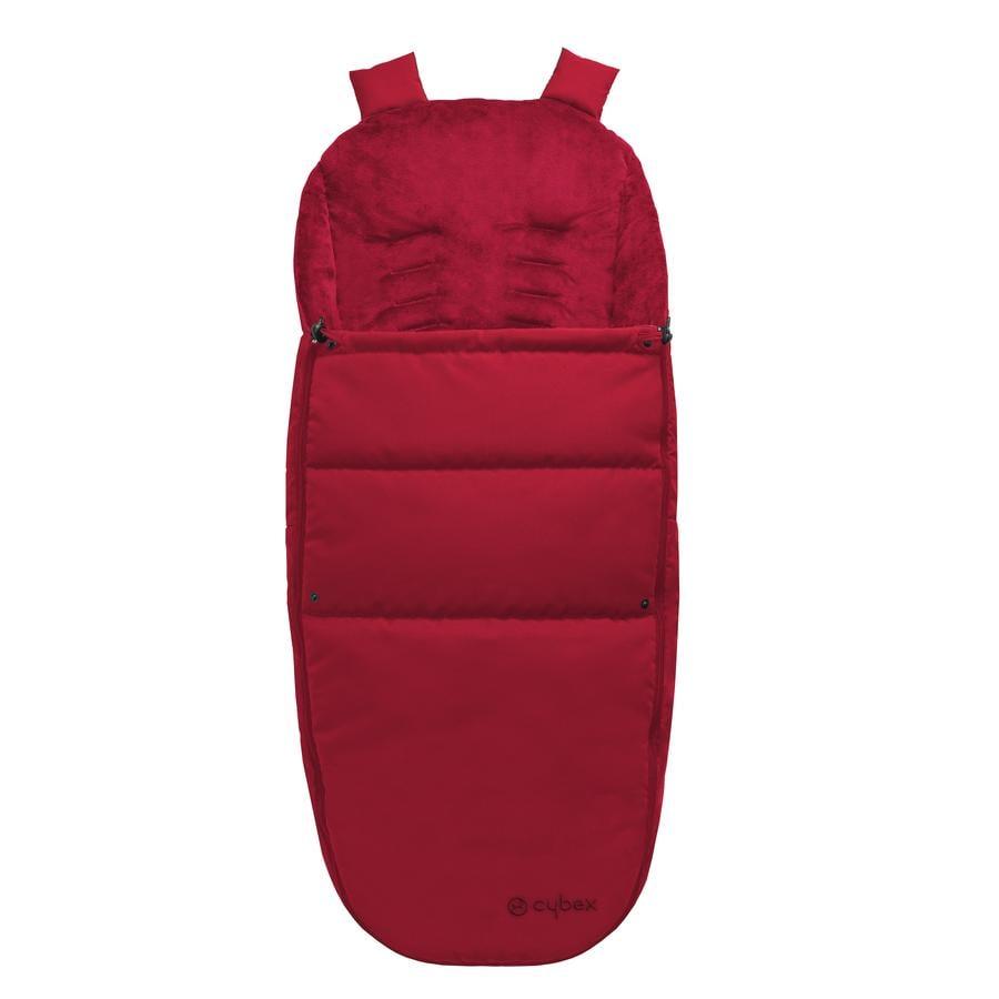 Cybex GOLD saco cubrepiés para cochecitos y sillas de paseo rojo