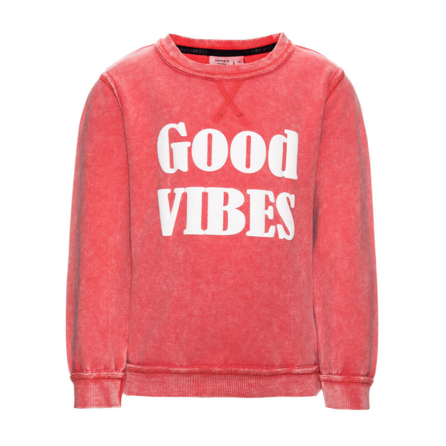 name it Boys Sweatshirt Elmer aurora red