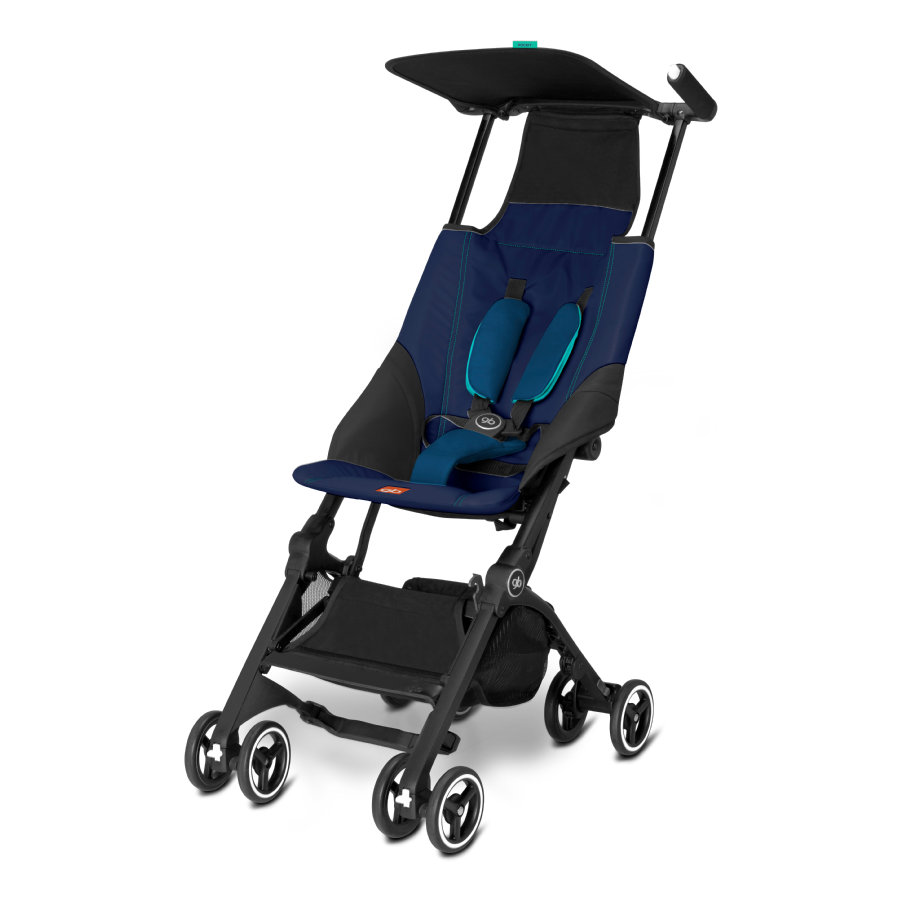 gb Silla de paseo GOLD Pockit Sea Port Blue - azul marino