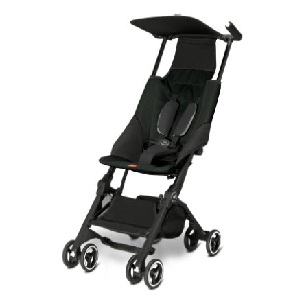 gb Silla de paseo GOLD Pockit Monument Black - negro