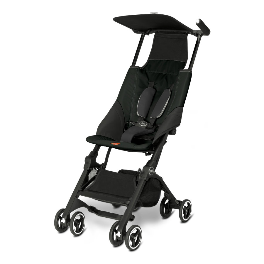 gb GOLD Buggy Pockit Monument Black - black