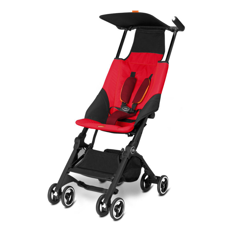 gb GOLD Buggy Pockit Dragonfire Red - red