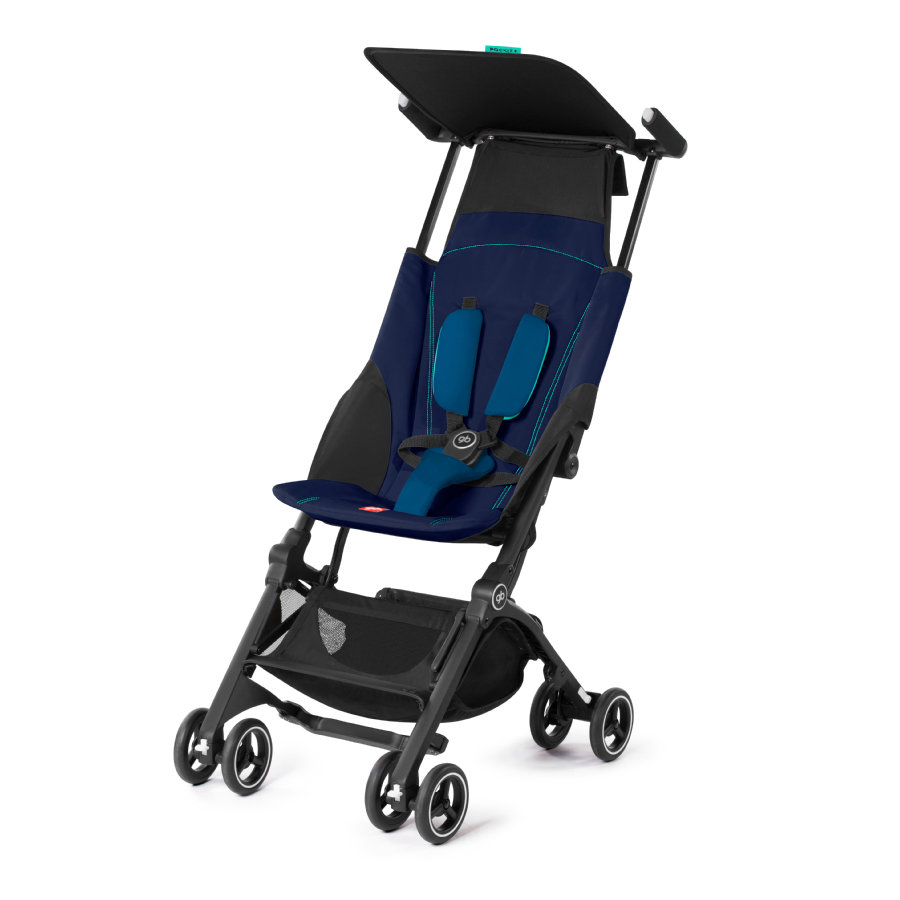 gb GOLD Buggy Pockit Plus Sea Port Blue - navy blue