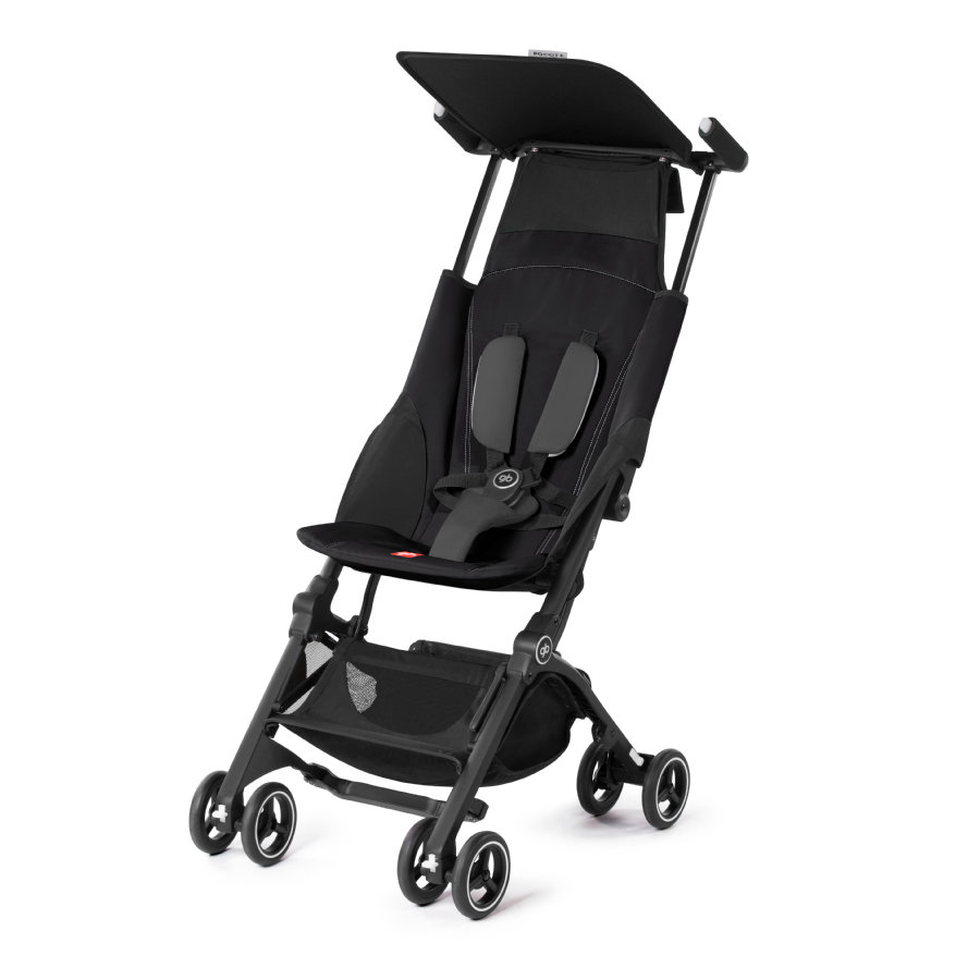 gb GOLD Buggy Pockit Plus Monument Black - black