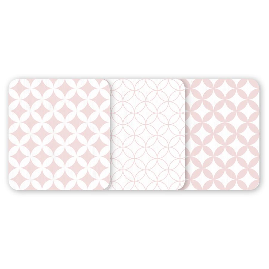 ODENWÄLDER Tvättlappar 3-pack Ornamento puder