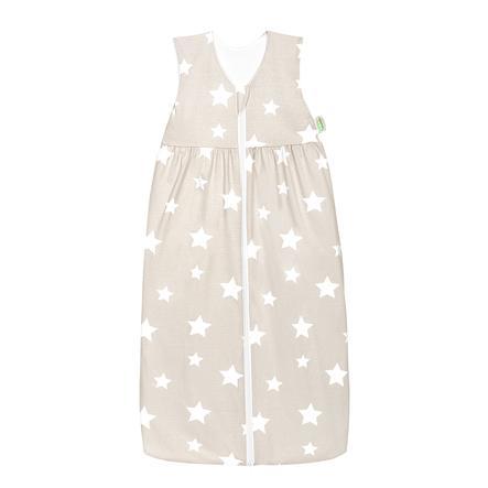 Odenwälder unipussi Jersey Anni 70 - 130 cm, tähdet vaaleanruskea / valkoinen
