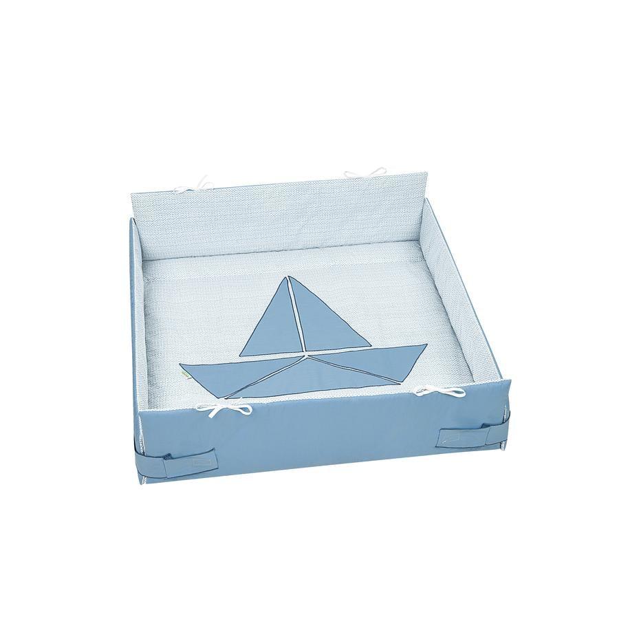 odenwälder Speedboat Graphic Inzetbakje voor de box s frozen minze 100 x 100 cm