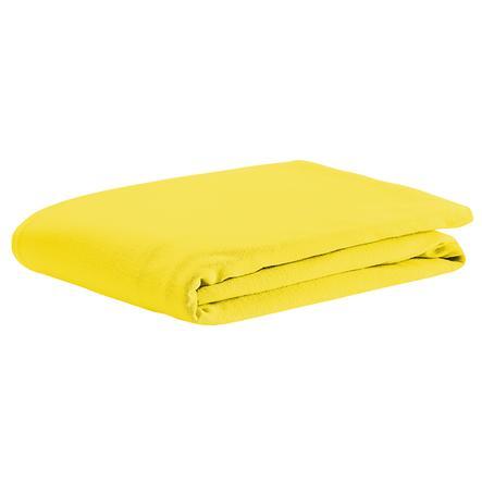 odenwälder Spannbetttuch Jersey gelb 70 x 140 cm