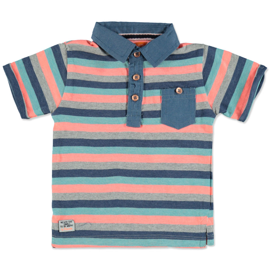 STACCATO Boys Polo blauwe strepen