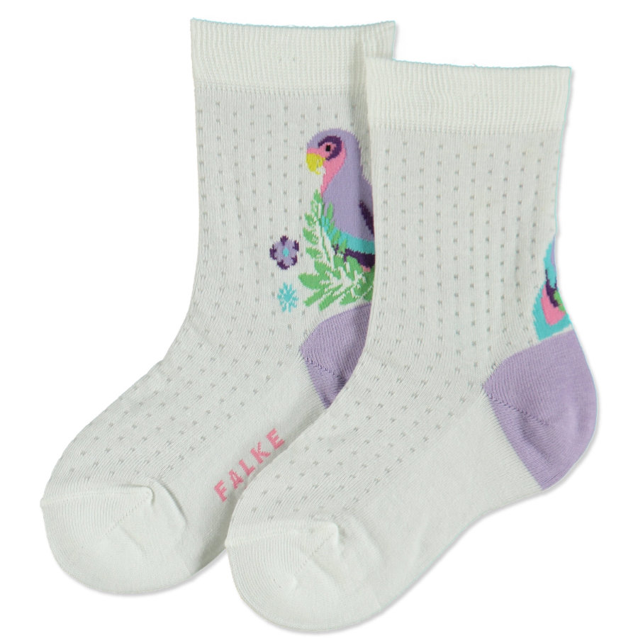 FALKE Girls Socken Parrot white