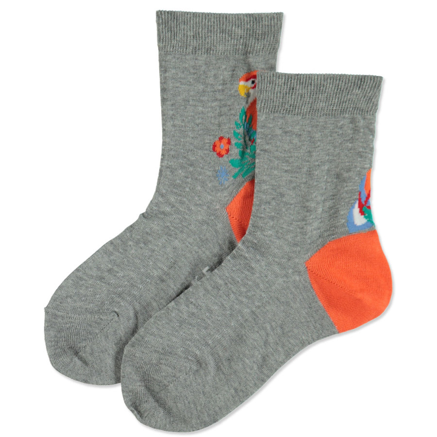 FALKE Girls Socken Parrot light grey